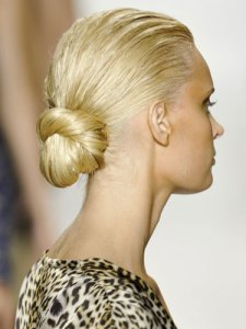 Summer Hair Chignon