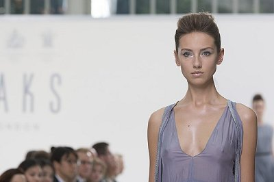DAKS showcases new collection at London Fashion Week SS15